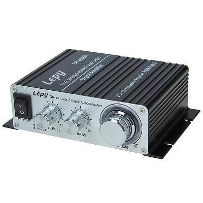 Lepy LP-2020A 2020 Class-D Hi-Fi Audio Mini Amplifier with US Power Supply