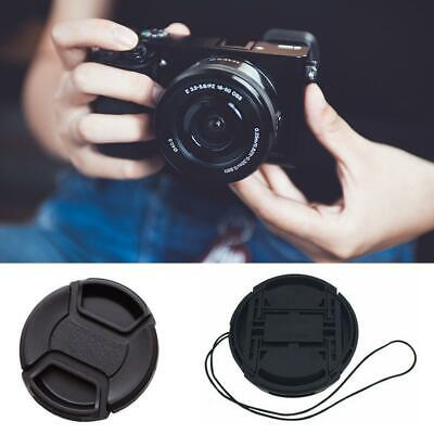 55MM Snap-On Front Lens Caps Cover Protect for DSLR Camera Camcorder with String 55 Mm Snap