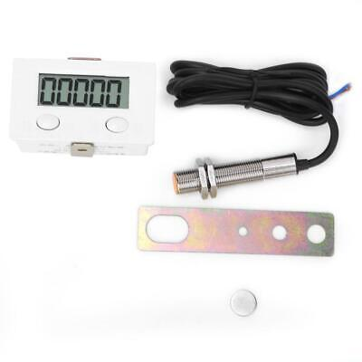 5-digit LCD Display Counter BERM Magnetic Induction Proximity Switch Sensor