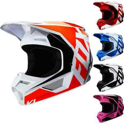 Fox Racing V1 PRIX Helmet Adult MX Offroad ATV SXS Dirtbike