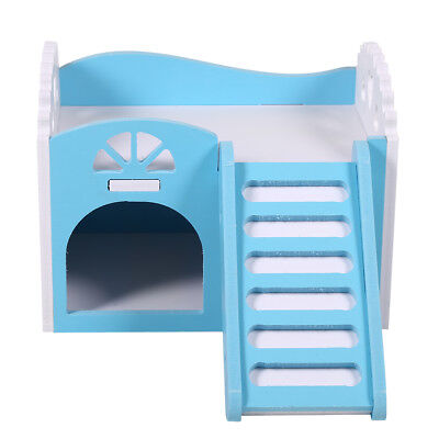 - Wooden House Cage Exercise Toys for Hamster Hedgehog Mouse Rat Guinea Pig US