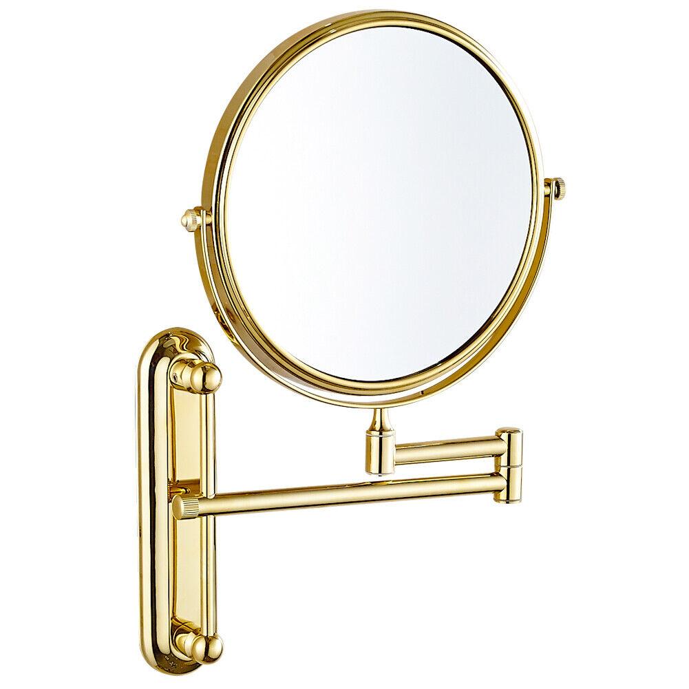 GURUN Hotel Bathroom Wall Mount Magnification Mirror with Do