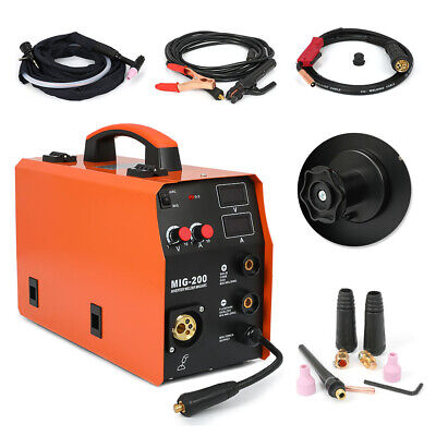 110v220v Tig Mma Mig Welder Igbt Inverter 3in1 Multi-function Welding Machine