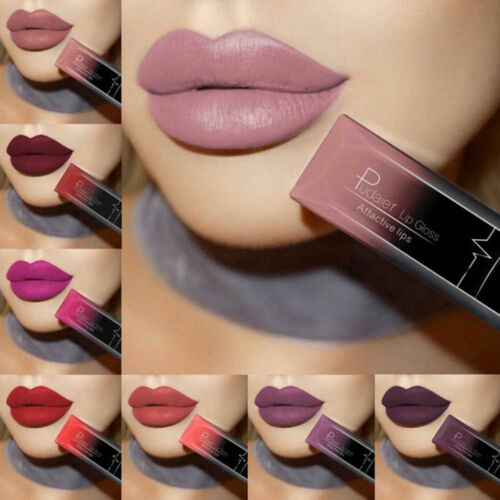 Long Lasting Liquid Lipstick Matte Lip Gloss Women Beauty Makeup Cosmetic Cheap