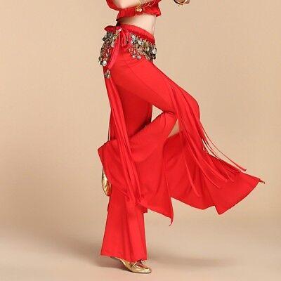 Bauchtanz Kostüm Hose Tribal Fusion Belly Dance Yoga Pants Trousers - Yoga Tanz Kostüm