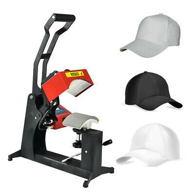 110v Gas Spring Dual Digital Hat Cap Heat Press Machine Sublimation Transfer
