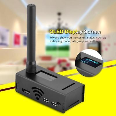 Assembled MMDVM Hotspot Support P25 DMR YSF Case Raspberry pi Antenna OLED