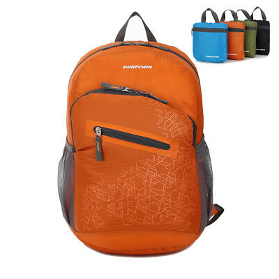 Ultralight Waterproof Backpack Men Foldable Daypack Hiking Travel Shoulder Bags
