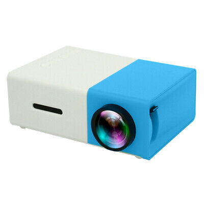 Mini Portable Projector HD LED HDMI USB Home Media Movie Player Video Beamer