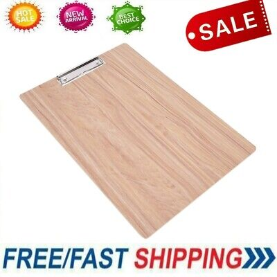 Writing Board Wood File Paper Clip Document Clipboard Sketching Artist Supplies