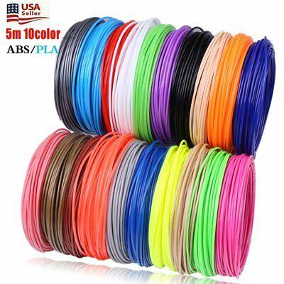 3D Pen Filament Refills(10 Colors, 20 Feet Each) Total 200 Feet, Pla Filament 1.75
