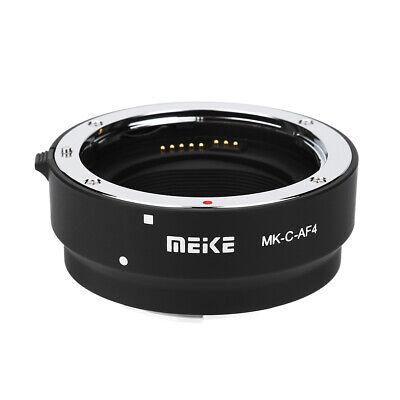 Anillo adaptador Meike MK-C-AF4 AF para cámaras con montura Canon EOS-M para