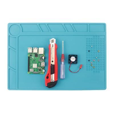 Anti Static Magnetic Heat Insulation Silicone Pad Desk Soldering Repair Work Mat