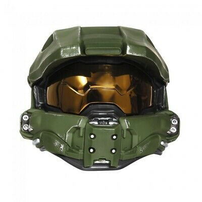 Master Chief Integralhelm Deluxe Kinder Halo Xbox Maske - Halo Master Chief Kinder Kostüm