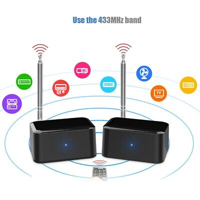Wireless IR Remote Control Extender Repeater Infrared Signal Transmitr -