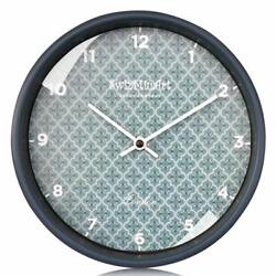 Silent Wall Clocks Battery Operated Non Ticking 9 inches Quartz Movement Modern