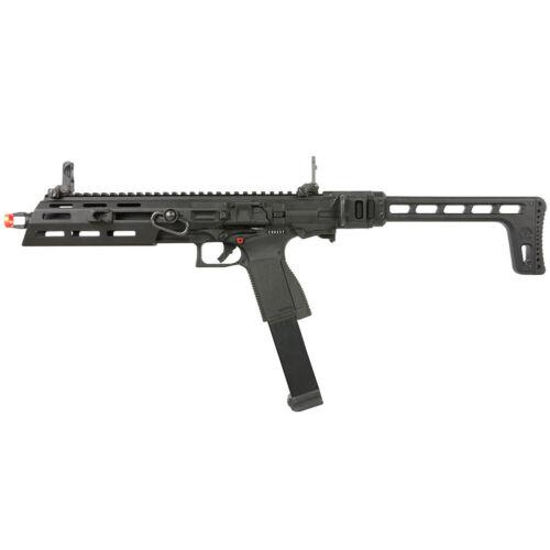 G&G Full Metal SMC-9 GBB M-LOK Airsoft PDW Pistol Carbine SMC-9MM-BBB-ECM