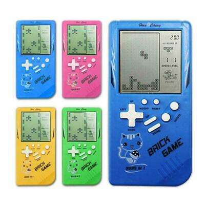 LCD Game Electronic Vintage Classic TETRIS Brick Handheld Arcade Pocket Toy Brick Arcade Game