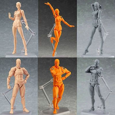New Figma Archetype Next He She Pvc Action Figure 135Mm Art Anime Toys 15Th
