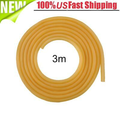 Open-Minded 32 Feet 5mm Natural Latex Rubber Tube Tubing Replacement Band Surgical 10m Fitness Equipments Sports & Entertainment