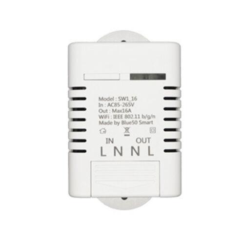 16A Wifi Wireless Smart Timer Home Switch Module For ECHO ALEXA GOOGLE HOME