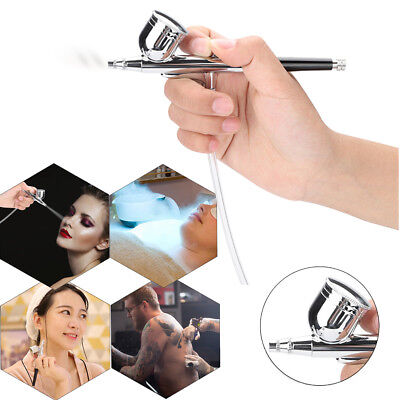 Airbrush Kompressor Kit Dual Action Spray Air Pinsel Tattoo Nail Art Tool GT 02