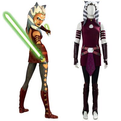 Star Wars: Die Clone Wars Ahsoka Tano Cosplay - Ahsoka Tano Halloween Kostüm