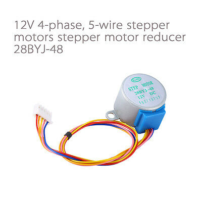 28byj-48 Valve Gear Stepper Motor Dc 12v 4 Phase Step Motor Reduction Arduino