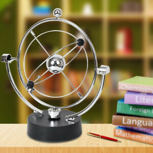 Magnetic Globe Pendulum Perpetual Motion Kinetic Balance Ornament Desktop Toy