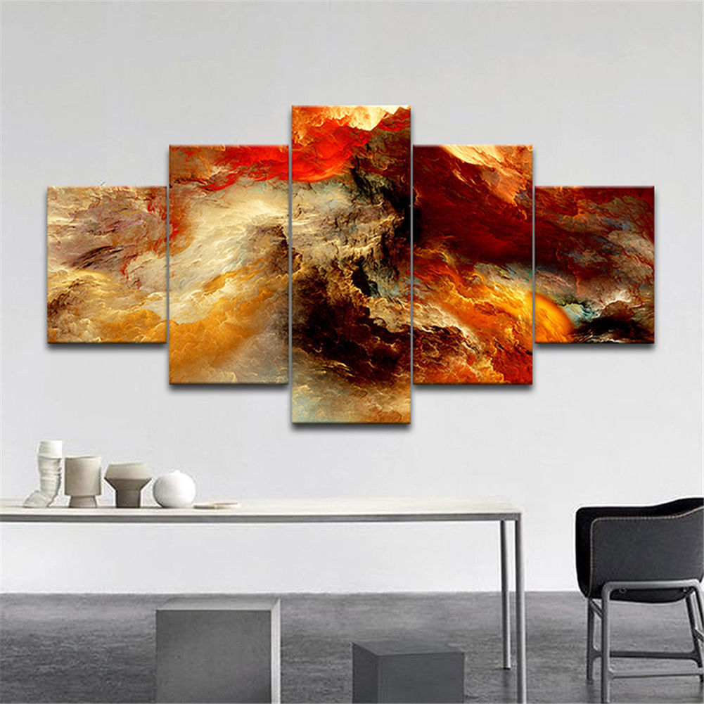 Large canvas huge modern home wall decor art oil painting for Modern decorative art