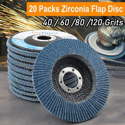 4 12x78 Inch Flap Disc T29 Zirconia Abrasive Grinding Wheels Sanding Disc 20pc