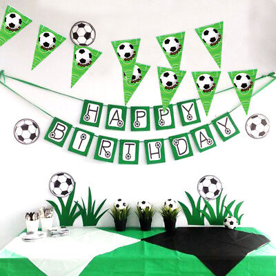 Football Soccer Game Ideas Football Banner Kid Birthday Party Favor Party Decor  (Soccer Party Decor)