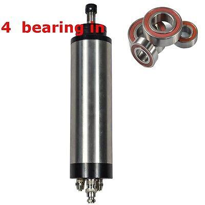 Water Cooled Spindle Motor1.5kw Er11 D65mm 220v Four Bearing Cnc Router