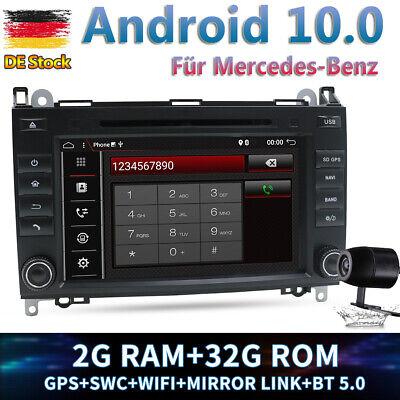 2 DIN Autoradio GPS Navi Für Mercedes Benz A/B Klasse Sprinter Viano Vito W639