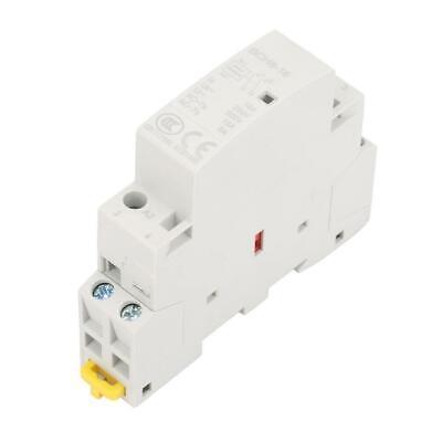 2p 16a 24v 5060hz Din Rail Household Ac Modular Contactor 1no Or 1nc