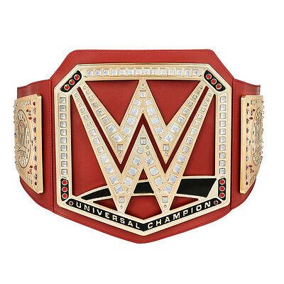 New Wwe red universal championship title wrestling belt brock lesnar 2017 design