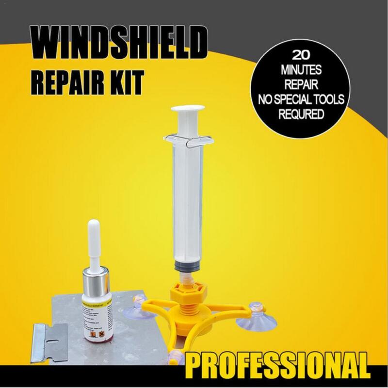 Windscreen Windshield Repair Tool Set Car Auto Kit Wind Glass For Chip Crack DIY