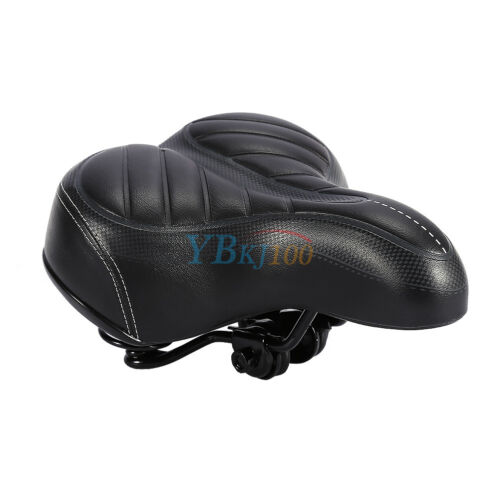 Extra Bike Seat : Extra wide big bum soft comfort sporty bike bicycle saddle