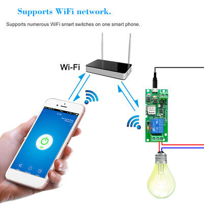 Sonoff Smart 1ch Dc 5v Wifi Timer Switch Relay Module Support For Home Sightly