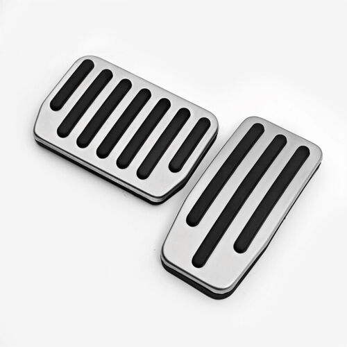 Non-Slip Non Drill Aluminum Alloy Foot Rest Pedal Pad for Tesla Model S
