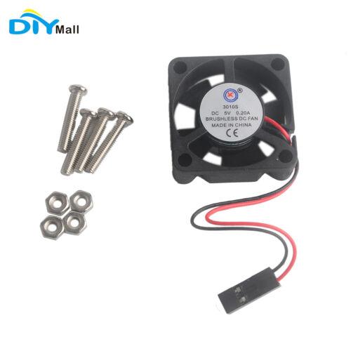 DIYmall Smallest 5V Cooling Fan for Raspberry Pi B B+ for RP