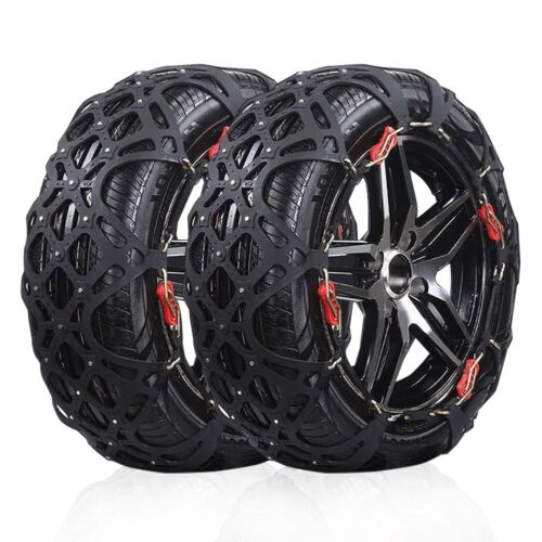 US Ship Set of 2 A10 Snow Tire Chain Car SUV Tire Anti-Skid Security Chains