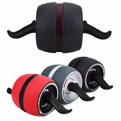 Pro Ab Roller Machine Fitness Exerciser Wheel Workout Abdominal Home Gym Pad USA ()