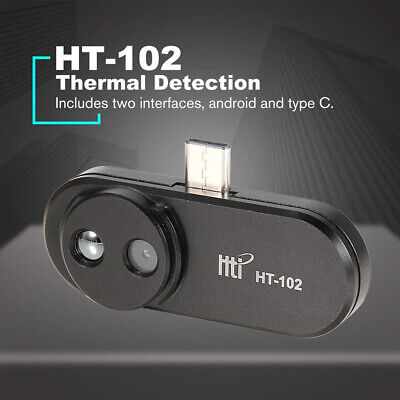 Ht-102 Cell Phone Infrared Camera Thermal Imager Androidtype-c B Interface New