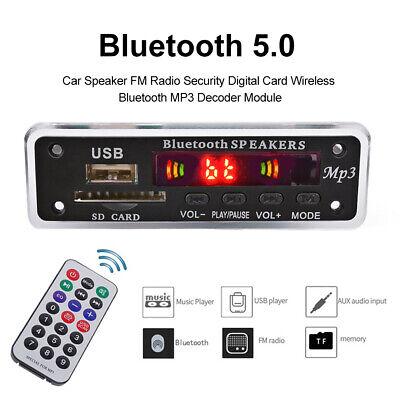 DC12V Bluetooth MP3 WMA FM AUX Decoder Board Audio Module TF