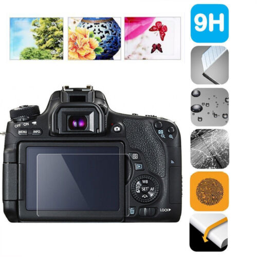 Tempered Glass Camera Screen HD Protector Cover For Canon 6D 6D Mark II