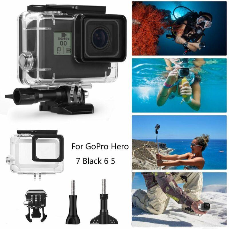 For GoPro Hero 7 Black 6 5 Underwater Waterproof Housing Case Diving Protective