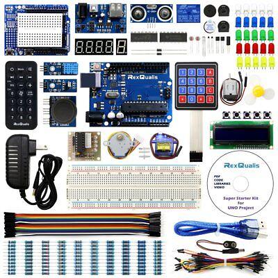 Uno Project Super Starter Kit For Arduino W Uno R3 Development Board Lcd1602