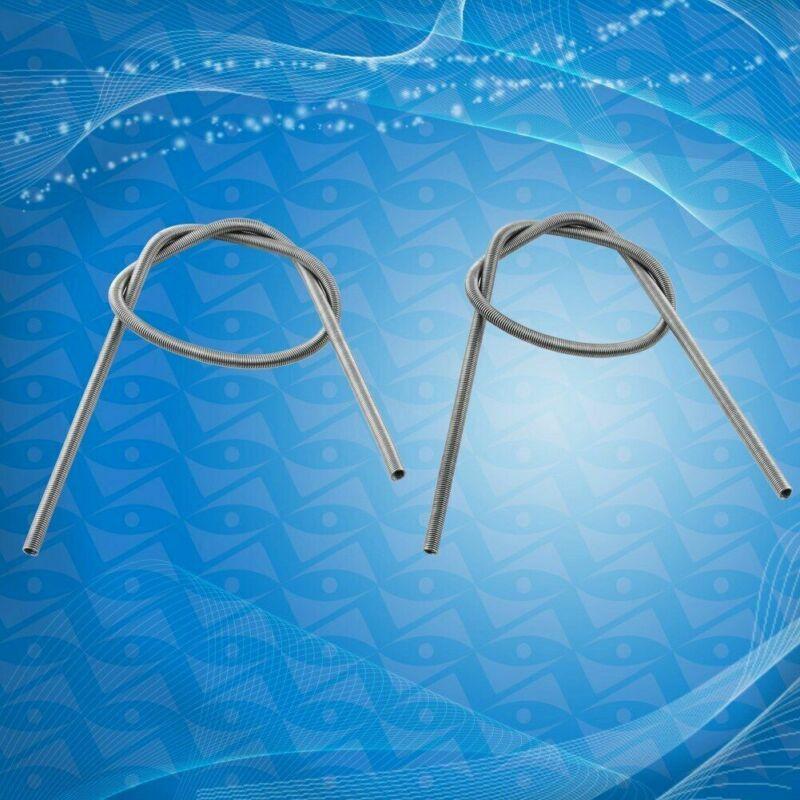 2Pcs 220VAC 1500W FeCrAl Kiln Furnace Heater Heat  Wire Coil OD 5.8mm