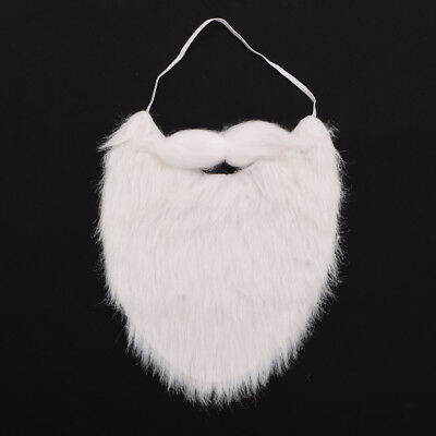 1pc Christmas Party Cosplay Dress Up Mustache Costume Props Santa Claus - Beard Dress Up